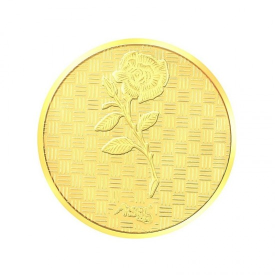 100 gram 24kt purity RSBL Gold Coin 995 fineness