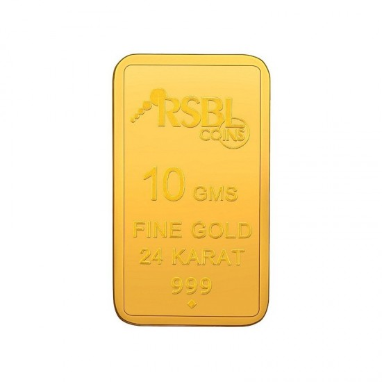 10 gram 24kt purity RSBL Gold Coin 999 fineness