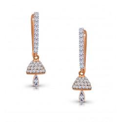 Rose Gold Bali / Earring A.Diamond 3.71 gram