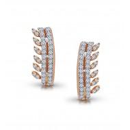Rose Gold Bali / Earring A.Diamond 2.78 gram