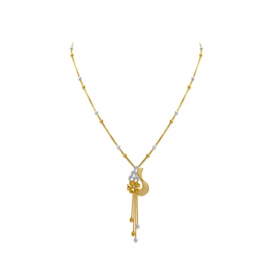 Gold Necklaces Set Casting EJT 14.18 gram