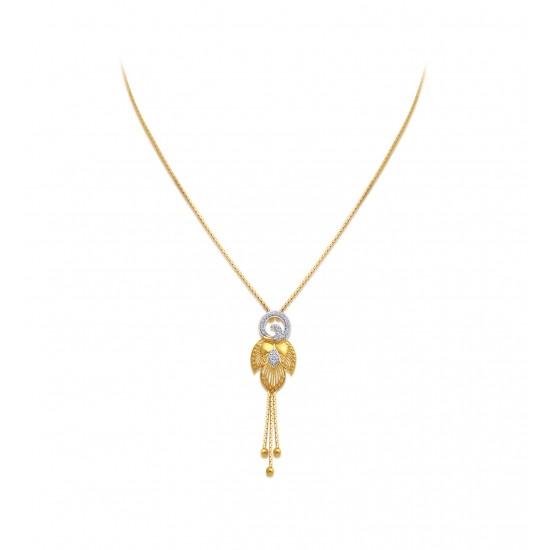 Gold Necklaces Set Casting  EJT 13.49gram