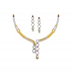 Gold Necklaces Set Casting H Set 23.19 gram