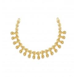 Gold Necklaces Set Casting 20.71gram