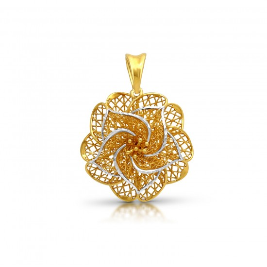 Gold Pendant Turked Style in 4.26 gram