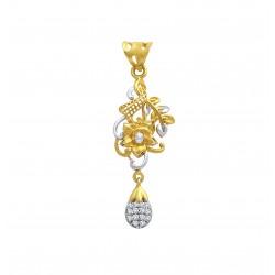 Gold Pendant A. Diamond Casting 3.26gram
