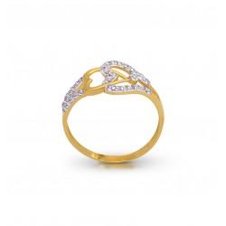Gold Ring Diamond  2.21 gram