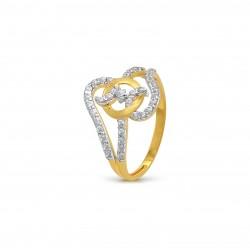 Gold Ring  A.Diamond 2.08 gram