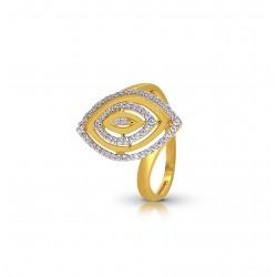 Gold Ring A.Diamond 3.53 gram