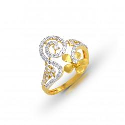 Gold Ring A.Diamond  2.22 gram