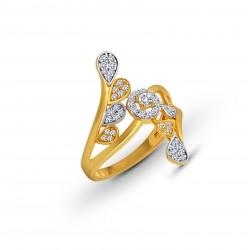 Gold Ring A.Diamond 3.05 gram