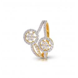 Gold Ring A.Diamond  2.93 gram