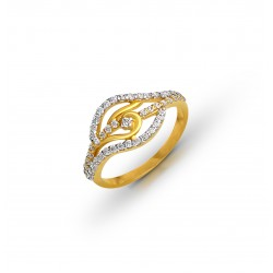 Gold Ring A.Diamond  2.36 gram