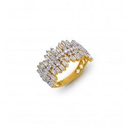 Gold Ring A.Diamond 5.37 gram