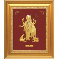 Pure 24 karat Golden Frame A7 Dattaguru Prima Art  by Amol Jewellers LLP