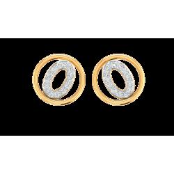 Kisna Brand Sun Drop Earrings 40230E  by Amol Jewellers LLP