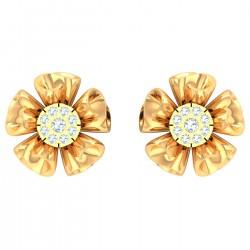 Kisna Brand Sun Drop Earring 40315E  by Amol Jewellers LLP