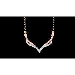 Kisna Brand Mangalsutra (MTO) 40186N by Amol Jewellers LLP