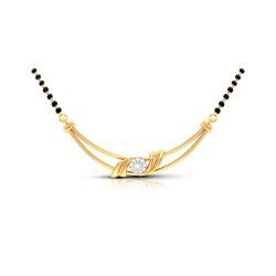 Kisna Brand Sun Shine Mangalsutra  40320N by Amol Jewellers LLP