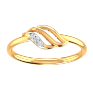 Kisna Sun Spring Ring 10722 by  Amol Jewellers LLP