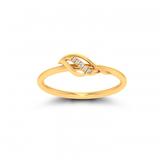 Kisna Sun Spring Ring 10785 by Amol Jewellers LLP