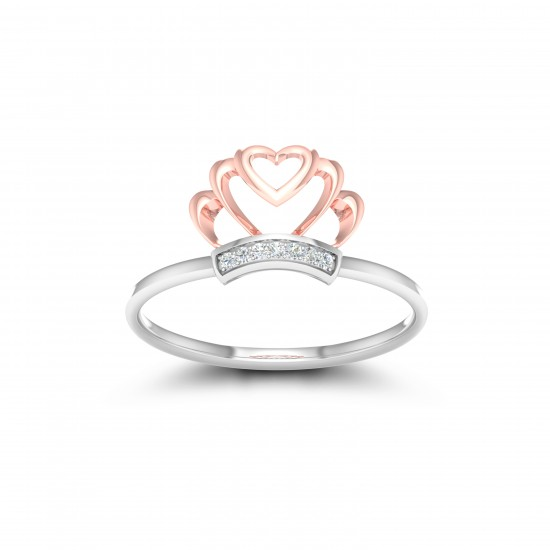 Kisna Sun Spring Ring 10786 by Amol Jewellers LLP