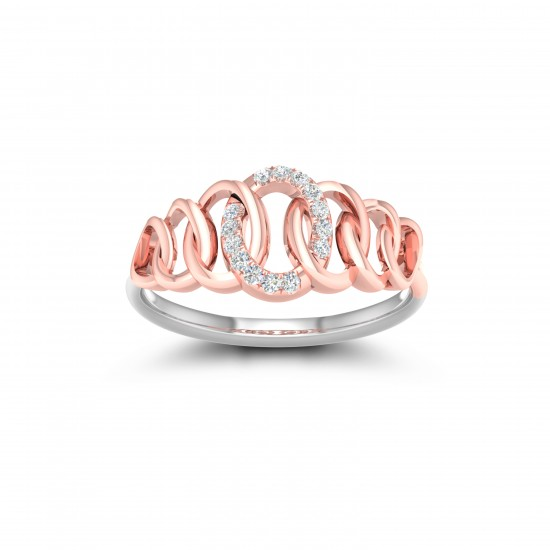 Kisna Sun Spring Ring 10787 by Amol Jewellers LLP