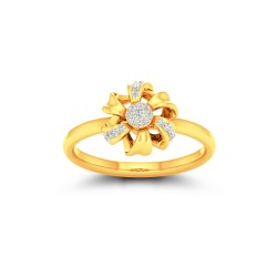 Kisna Sun Spring Ring 10789 by Amol Jewellers LLP
