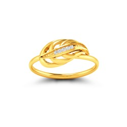 Kisna Sun Spring Ring 10792 by Amol Jewellers LLP