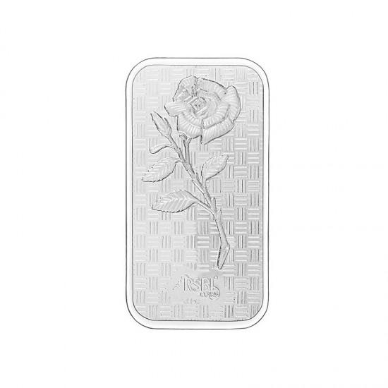 50 grams RSBL Silver Bar in 999 24kt Purity Fineness